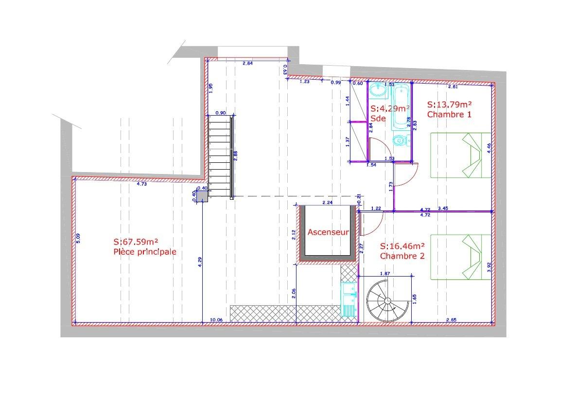 Bureau d etudes vrd et topographie for Plan amenagement interieur